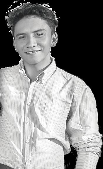 Estudiante-emprendedor en social-skin